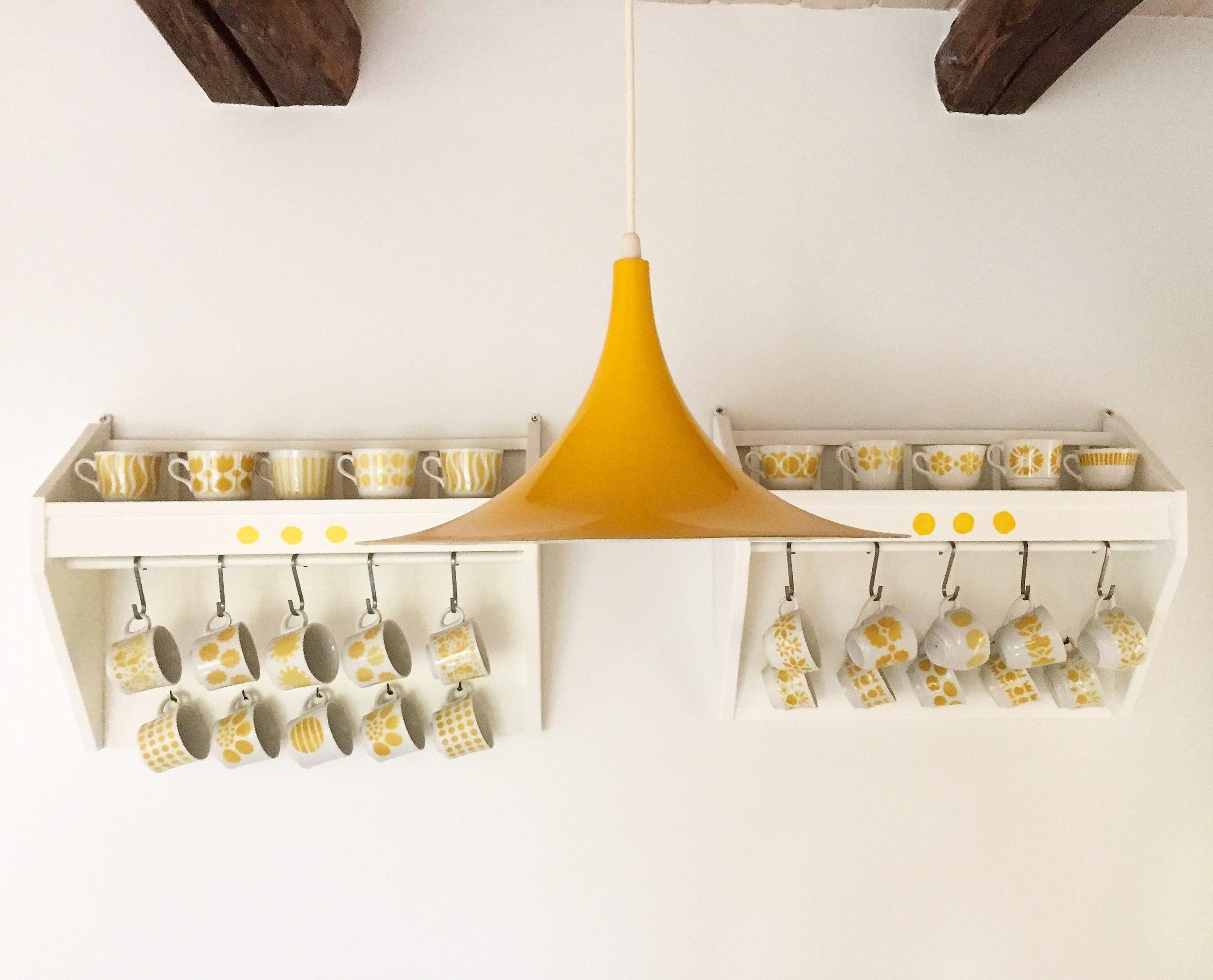 Elluyellow Arabian kahvikuppi kokoelma keltainen
