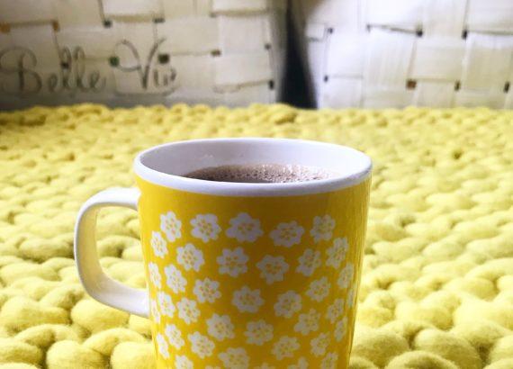 Marimekko keltainen kahvimuki elluyellow