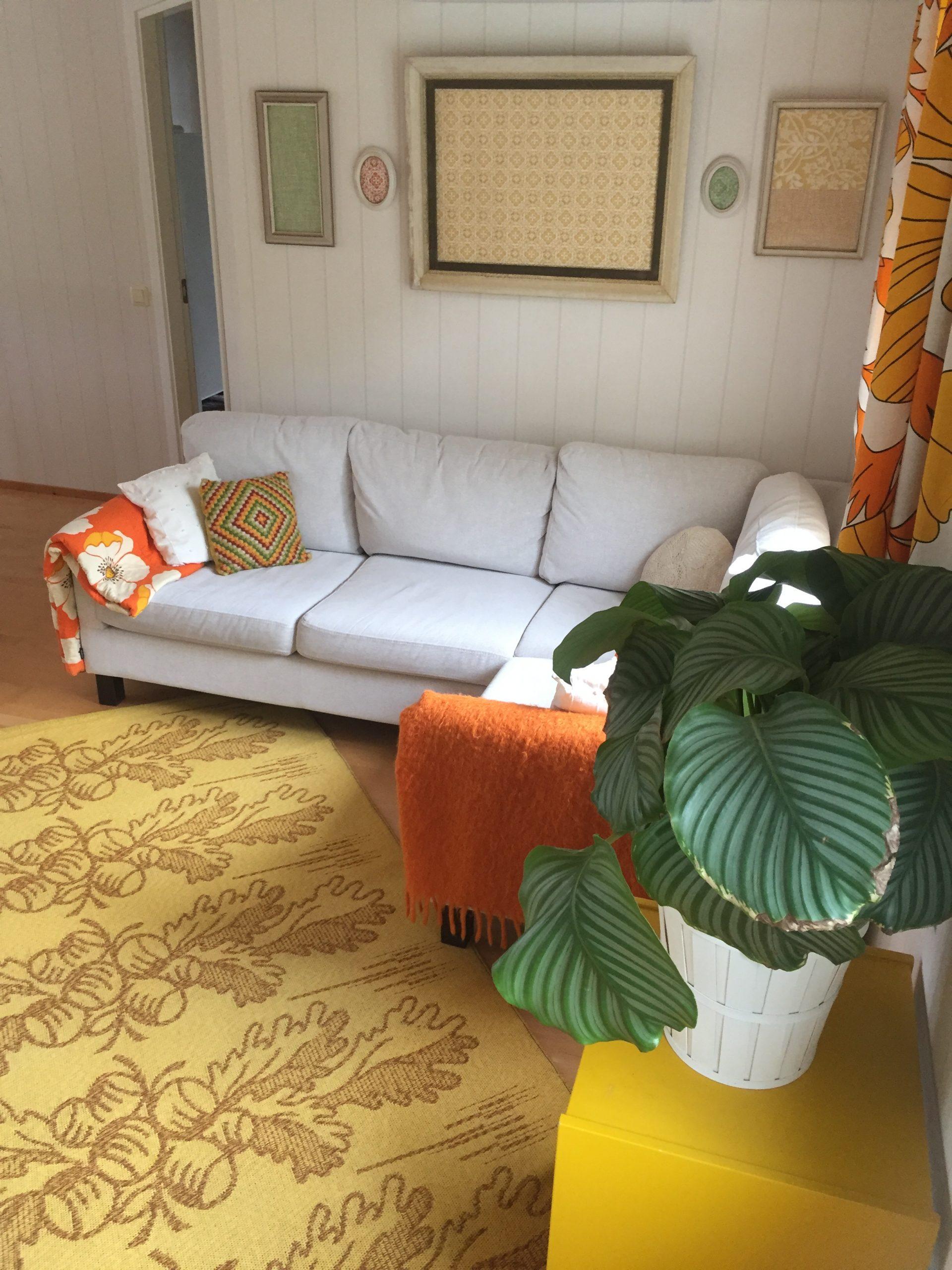 Elluyellow värikäs olohuone