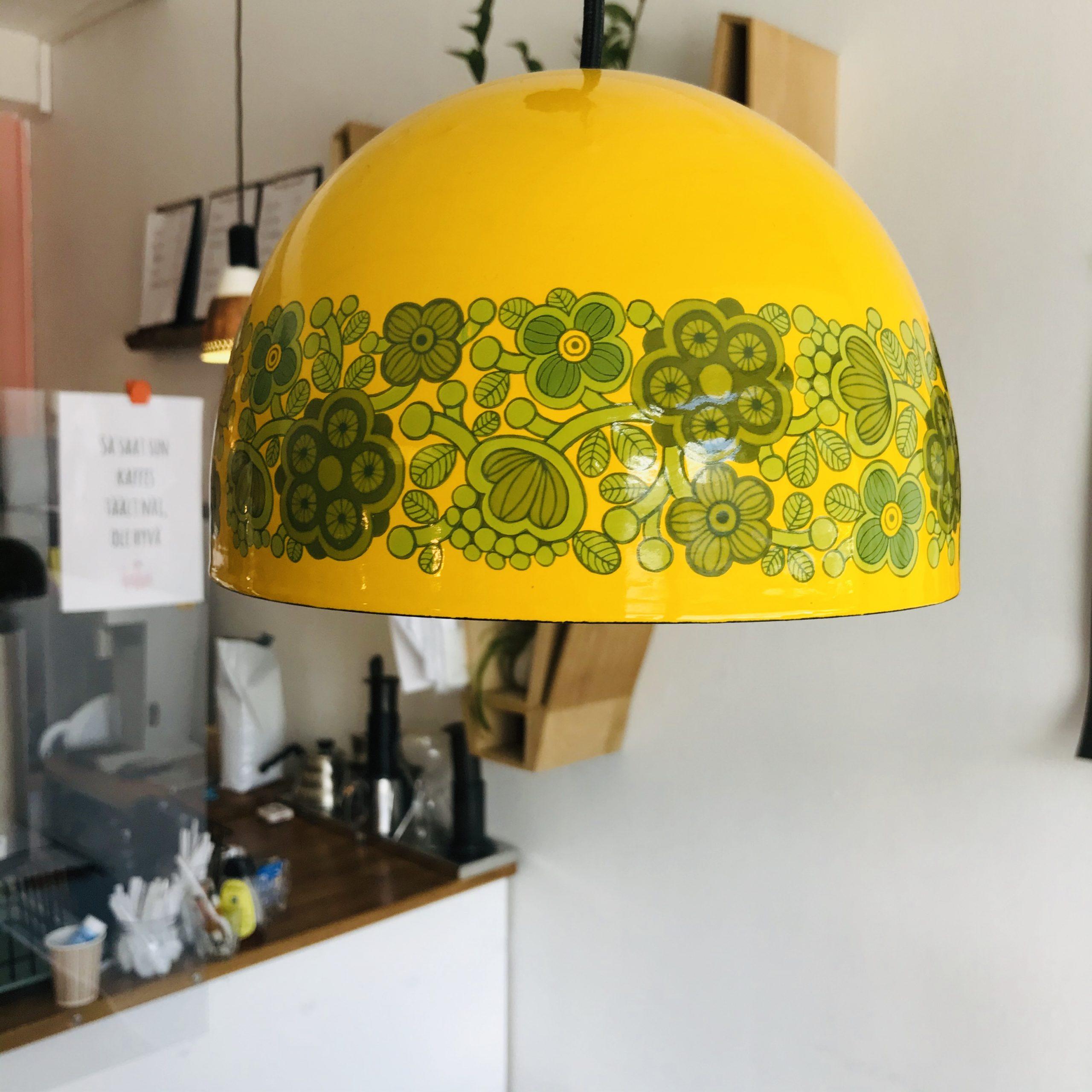 Elluyellow Gaggui Kaffelan keltainen primavera lamppu