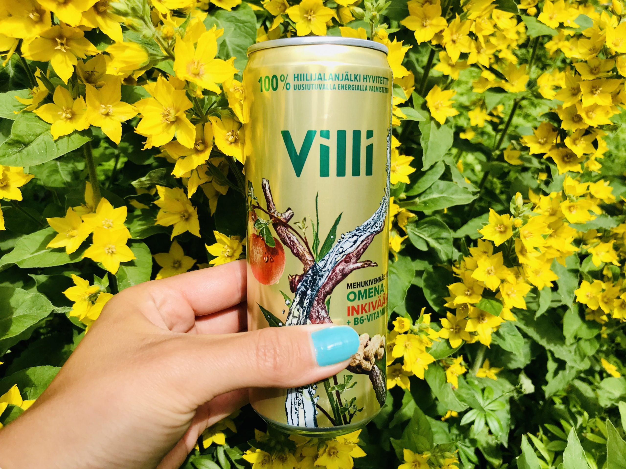 Elluyellow testaa kotimaisia ja ekologisia VIllivesiä, keltaiset luonnonkukat.