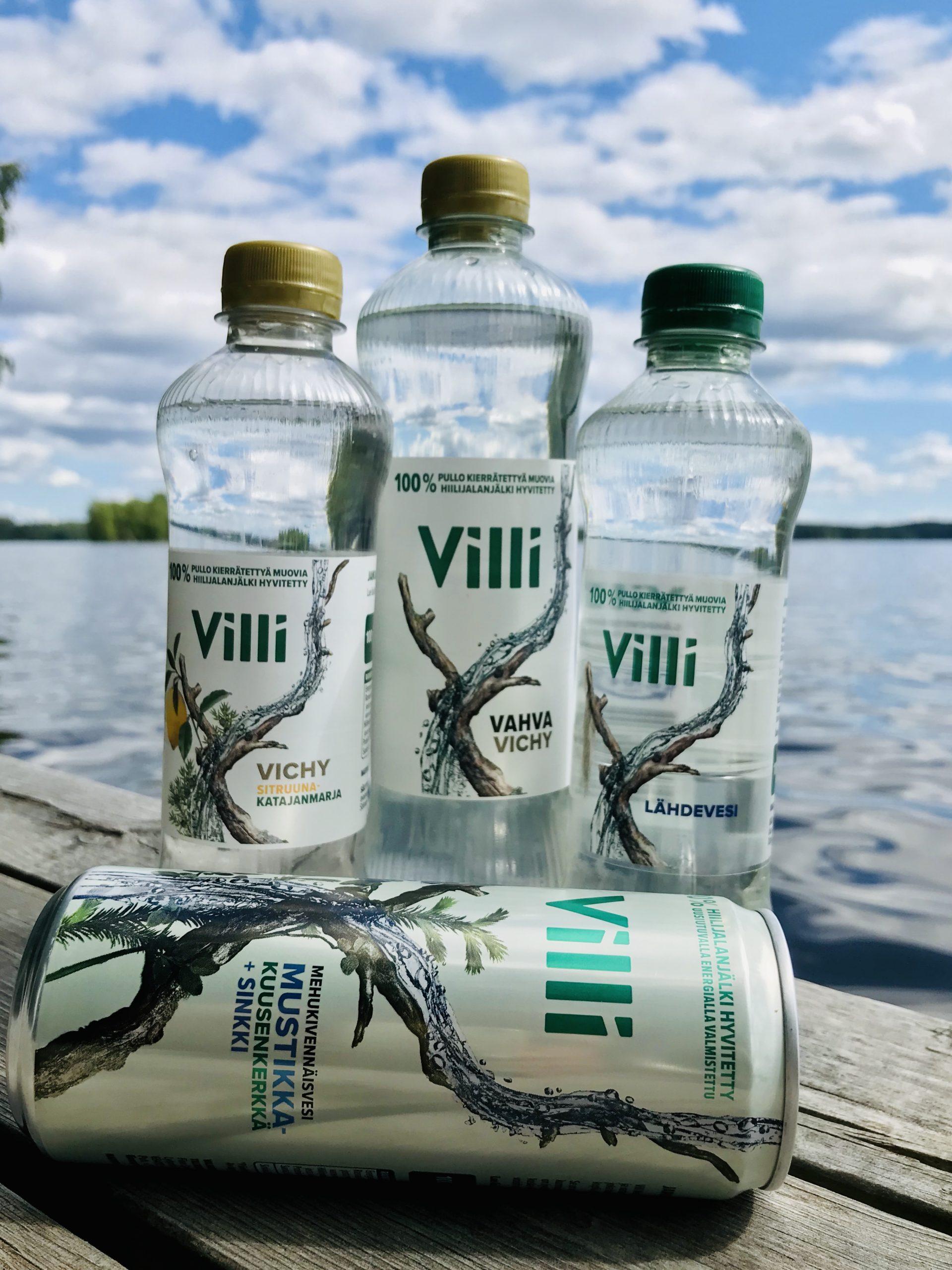 Elluyellow testaa kotimaisia ja ekologisia VIllivesiä, luontokuva.