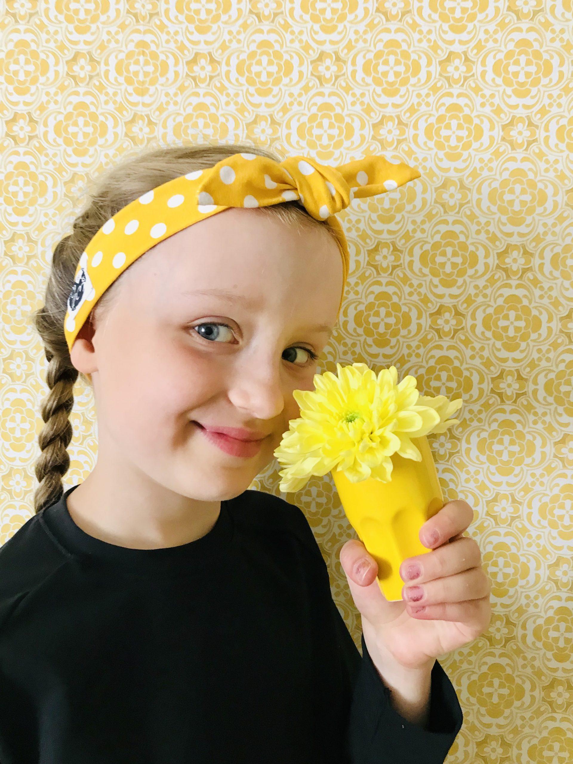 YellowQuun kotimaiset vaatteet Elluyellow'n tyttärillä