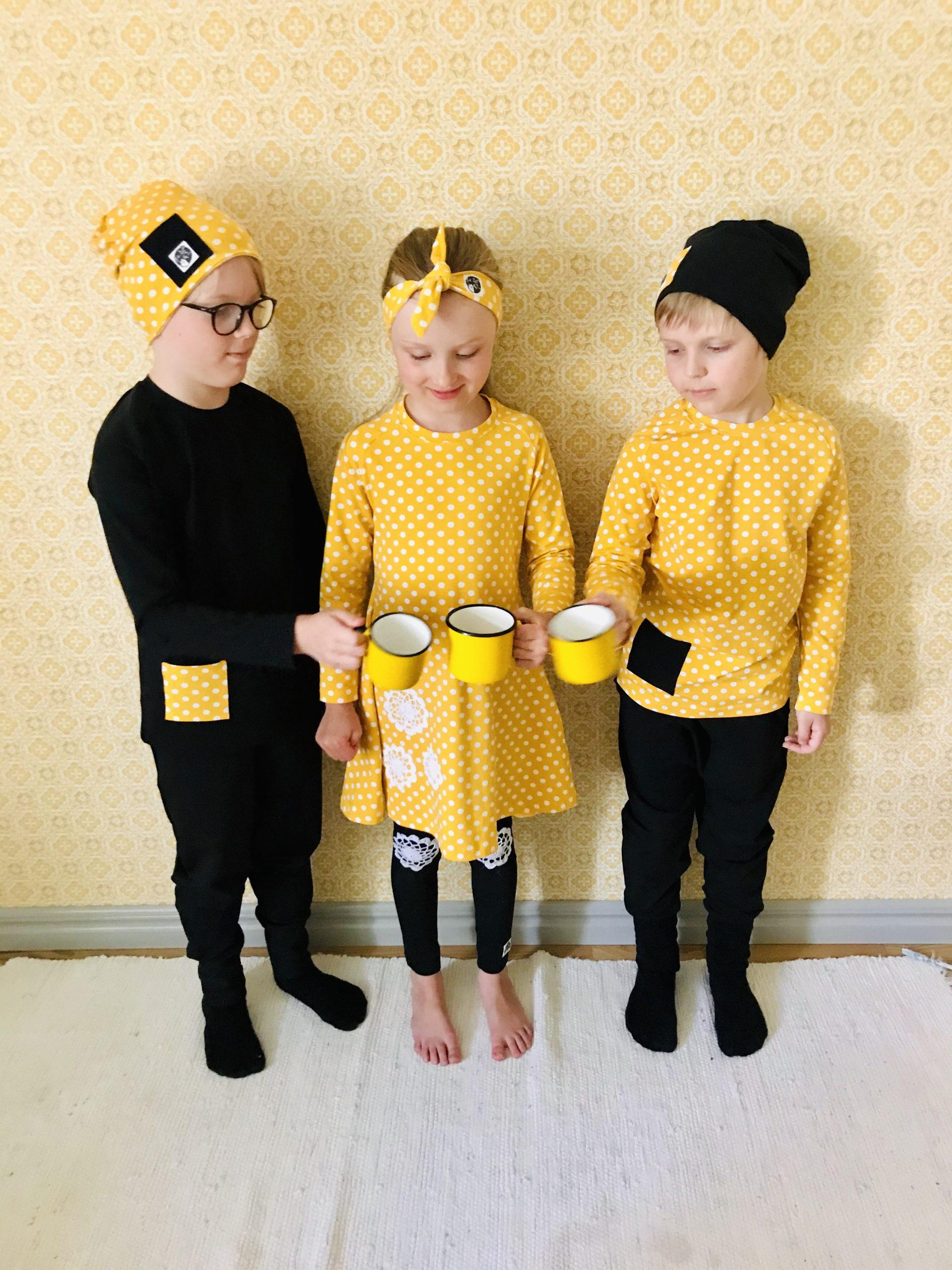 Elluyellow YellowQuu lastenvaatemallisto